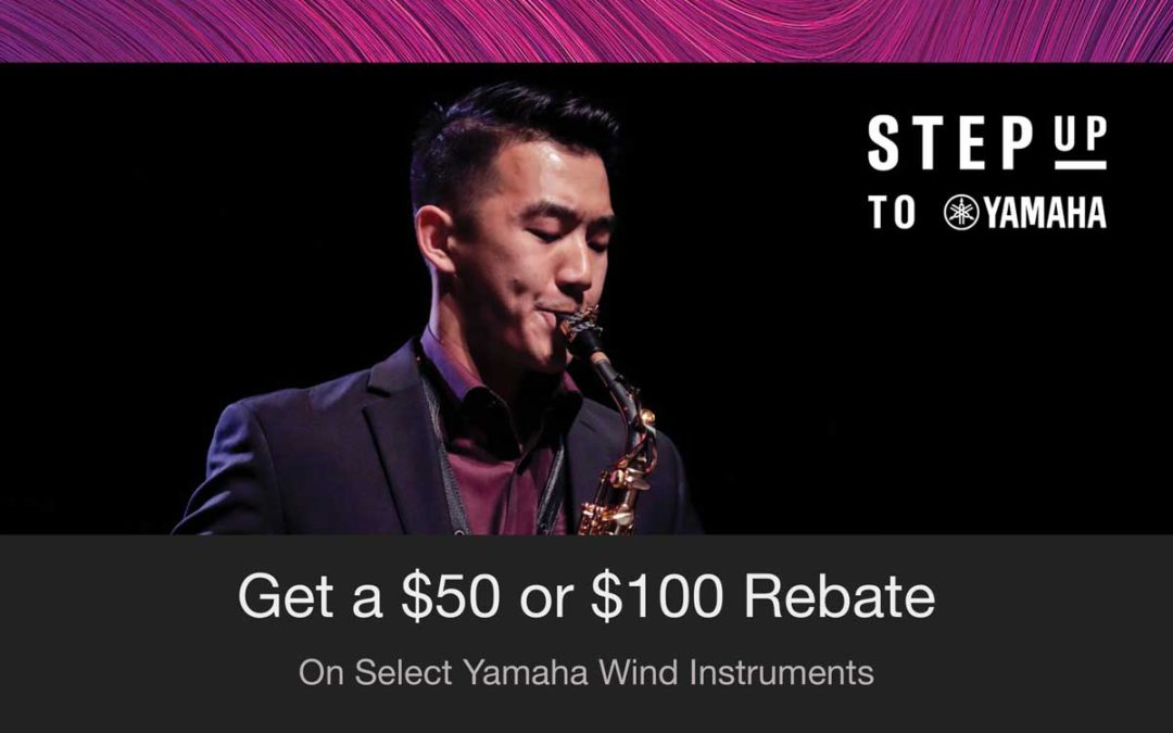 Step Up Your Instrument With Step Up To Yamaha 2019